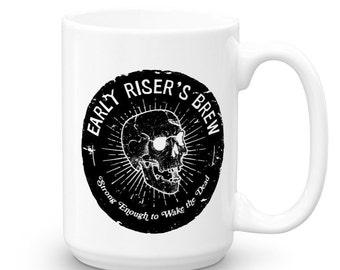 Skull Coffee Mug - Coffee Mug - Skeleton Mug - Coffee Gift - Friend Gift - Funny Coffee Mugs - Mug - Coffee