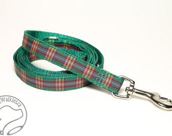 Cameron of Locheil Tartan Leash // Matching Tartan Dog Leash in all widths // custom lengths // Plaid Leashes // Tartan Lead // Handmade