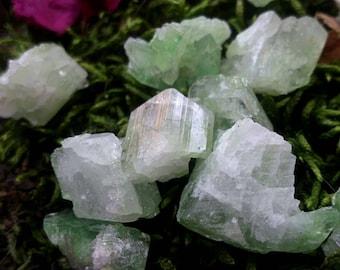Rare augelite crystal natural augelite crystal healing crystals green augelite crystal