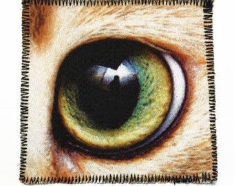 Cute cat eye patch