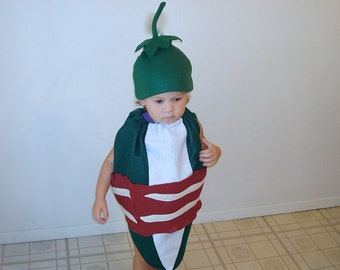 Baby Jalapeno Popper Costume Halloween Costume Bacon Wrapped Bacon Costume Food Costume Cosplay Toddler Costume Baby Food Costume Funny
