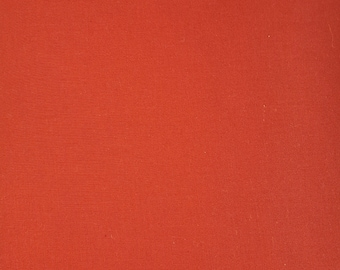 """Red solid 108"""" wide back 100% cotton fabric"""