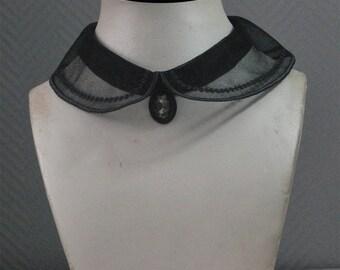 Peter Pan collar to be oneself fixed