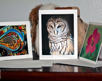 Blank Note Card Your Choice of Fine Art Imagery Photograph on Note Card