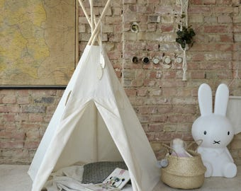 Tipi Kids Play Teepee Tent SALE Little NOMAD natural beige