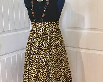 High waist cotton midi skirt, high waist circle cotton skirt, high waist full flare circle skirt, full flare maxi skirt.