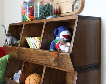 Toy Storage Bins Woodworking Plans