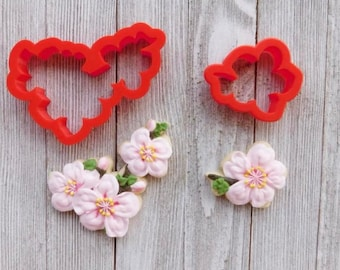 Mini Cherry Blossom Cookie Cutter