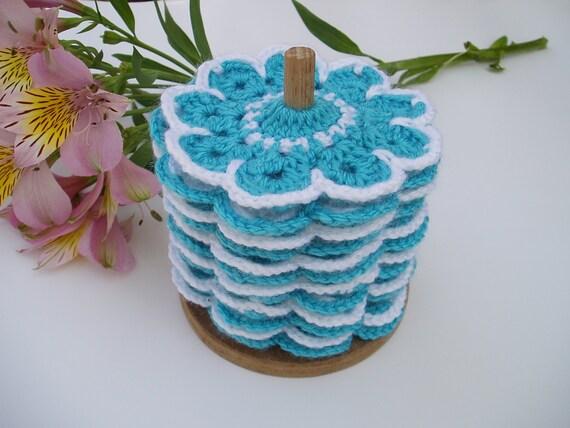 Molto Set of 12 Crochet Coasters Table Decor Christmas Gift Set YV74