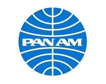 Pan Am Airlines Logo Fridge Magnet (LM14107)