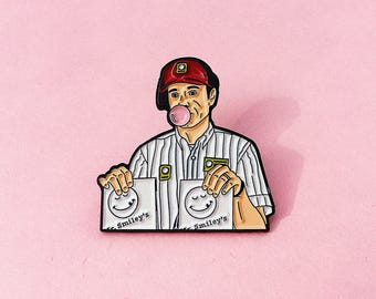 American Beauty Bubblegum Pin