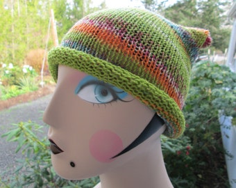 Adult Beanie Knitted by SuzannesStitches,  Teen Earthtone Beanie Hat, Toddler Earthtone Skull Cap, Adult Earthtone Beanie Hat, Mens Beanie
