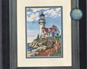 Beacon at Rocky Point Gold Collection Petites Counted Cross Stitch Kit