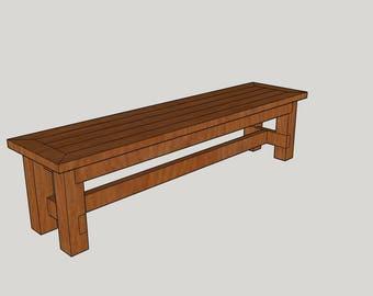 6 ft. Family Bench