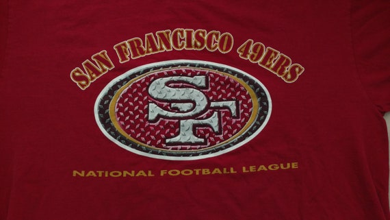San Francisco Forty Niners Vintage 90s T Shirt Logo Athletic