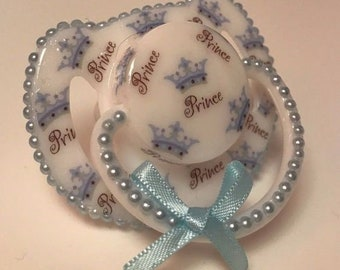 Prince  magnetic reborn doll dummy pacifier
