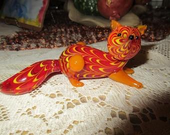 CHINA ART GLASS Fox