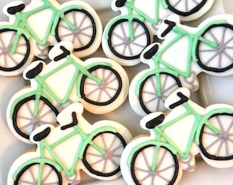 Vintage bicycle cookies 1 dozen