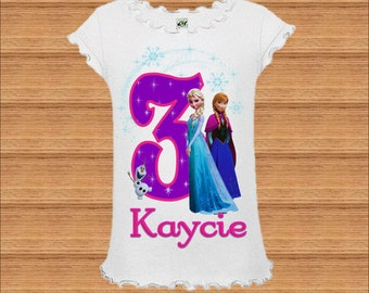 Add To Added Frozen Birthday Shirt