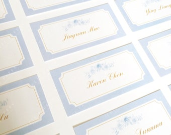 Vintage place card for your wedding reception 10pc