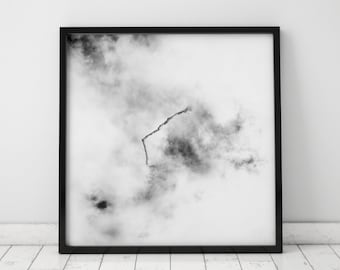 Black and White Cloud, Dust and Branch. No.03
