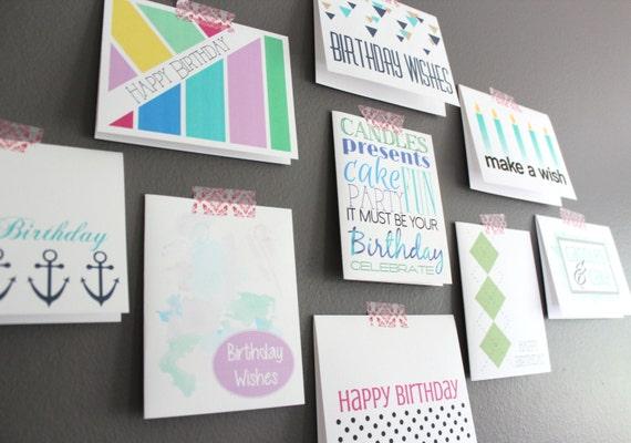 Birthday card set boxed greeting card assortment bulk m4hsunfo