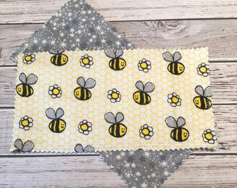 Reusable Dryer Sheets - Bee - Daisy - Flower - No Waste
