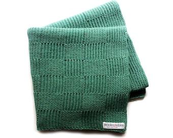 Babies/Children's knitted lambswool blanket/duvet/infants/children/prams/bed/white/pink/blue/gray
