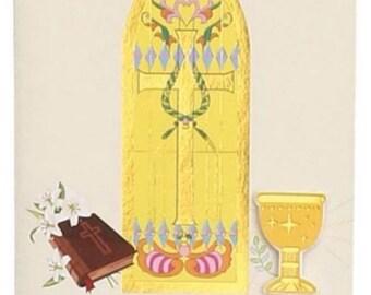 10 Mi Primera Comunion Invitacion Spanish 1st Communion Invitations with Envelopes