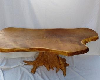 Osage Orange Coffee Table