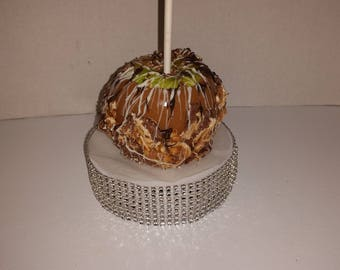 Gourmet Caramel Chocolate Candy Apples (small-medium)