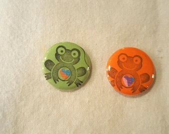 Frog Button / pin