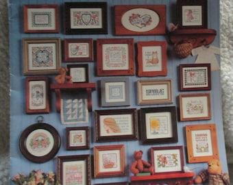 Short and Sweet #4 Leisure Arts 2472 Deborah Lambein 50 Minature sayings from 1993