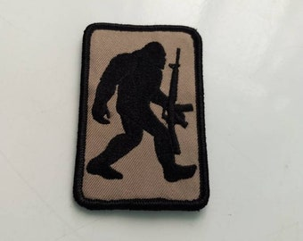 Velcro backed tactical patch