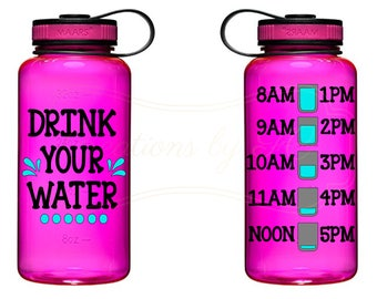 Drink your Water Water Bottle