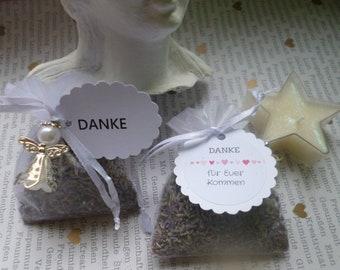 Guest gift Lavender blossoms wedding, baptism, Communion 10 x