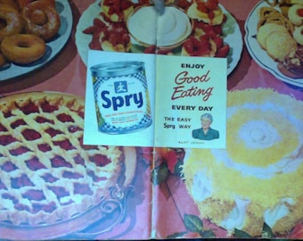 1949 Spry Shortening 48 page Cooking Booklet