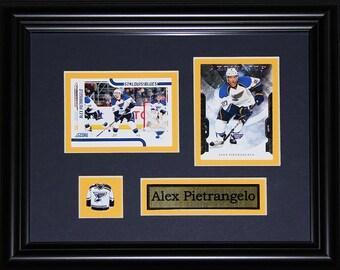 Alex Pietrangelo St. Louis Blues 2 card frame