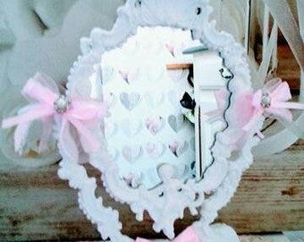 Mirror courtesy old shabby chic vintage