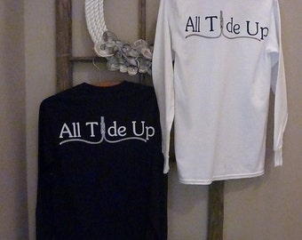 Long Sleeve Pocket Tshirt - All Tide Up
