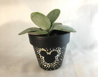 Mickey Mouse Planter Etsy
