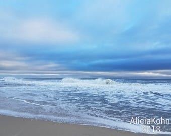 Beach Morning Sky