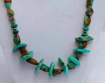SALE - African Turquoise Necklace
