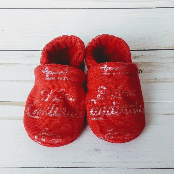 St. Louis Cardinals: Soft Sole Baby Shoes 0-3M
