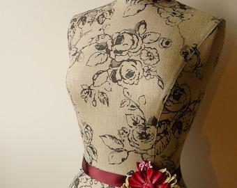 Home Living Floral Mannequin Dress Form Display - Phoebe