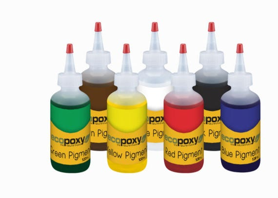 EcoPoxy Resin Coloring Pigments Kit 60 ML Resin Art Pigments