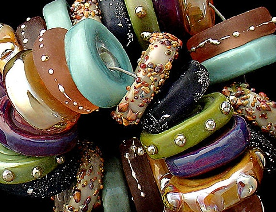 Lampwork Beads Statement Necklace Glass Beads For Bracelet Beads For Jewelry Supplies Beading Jewelry Making Rustic Bead Debbie Sanders