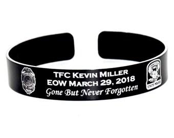 TFC Kevin Miller Memorial Bracelet