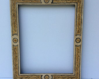 Italian faux marble frame 49.5 x 59.5