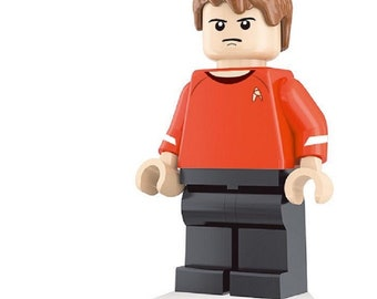 Edward Rayburn custom Star Trek Minifigure fits LEGO Starship USS Enterprise